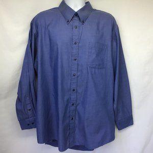 Nordstrom Men Blue Long Sleeve Shirt 19